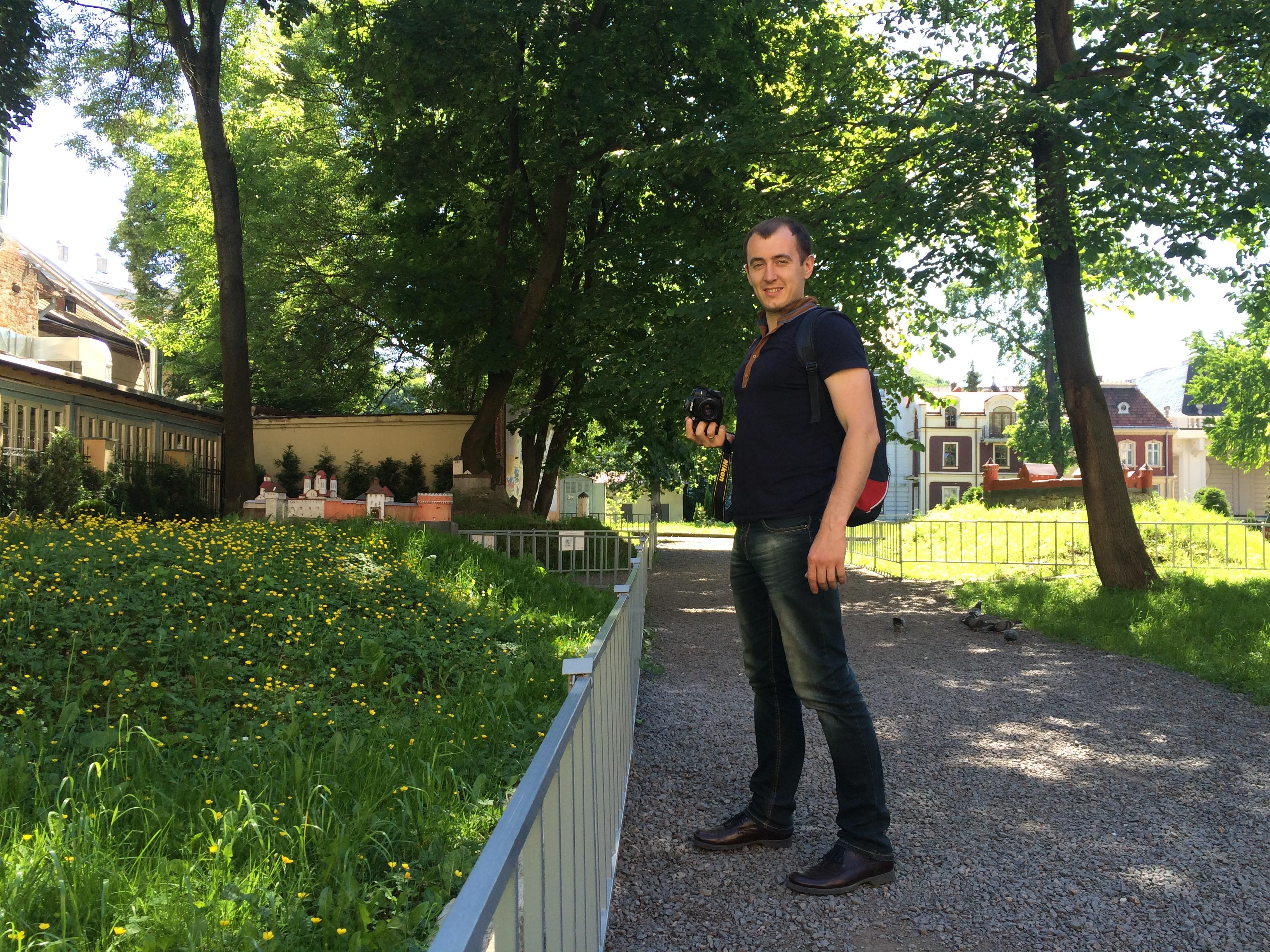 парк миниатюр замков и фортификационных сооружений древней Украины