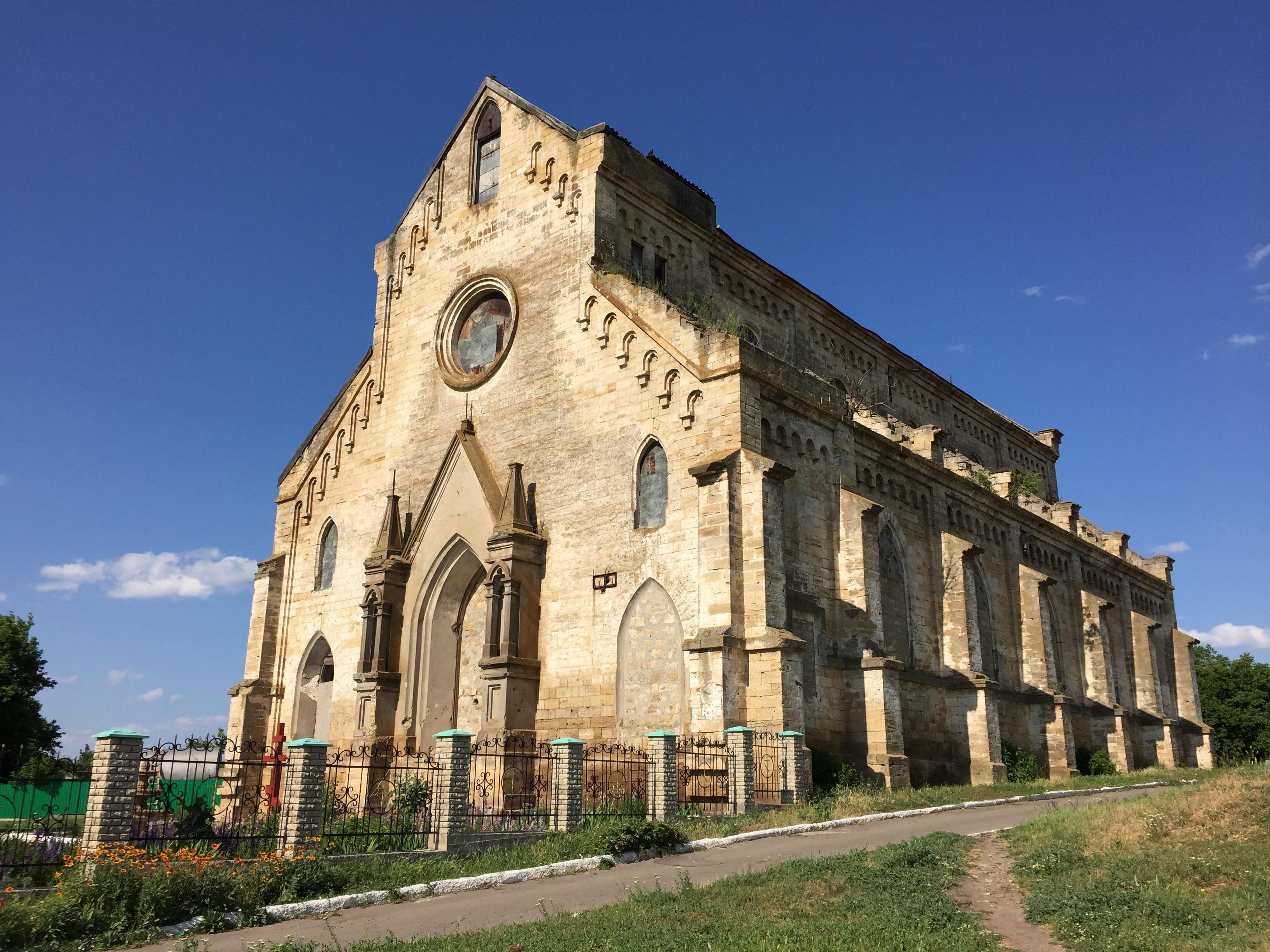 Костел в Степовому, Миколаївська область