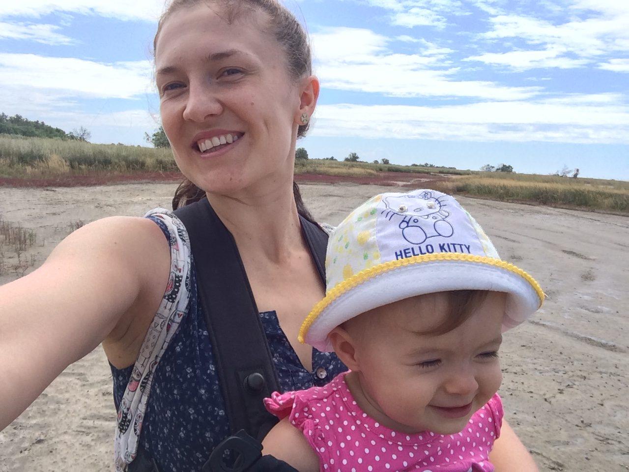 Кинбурнская коса: отдых с ребенком