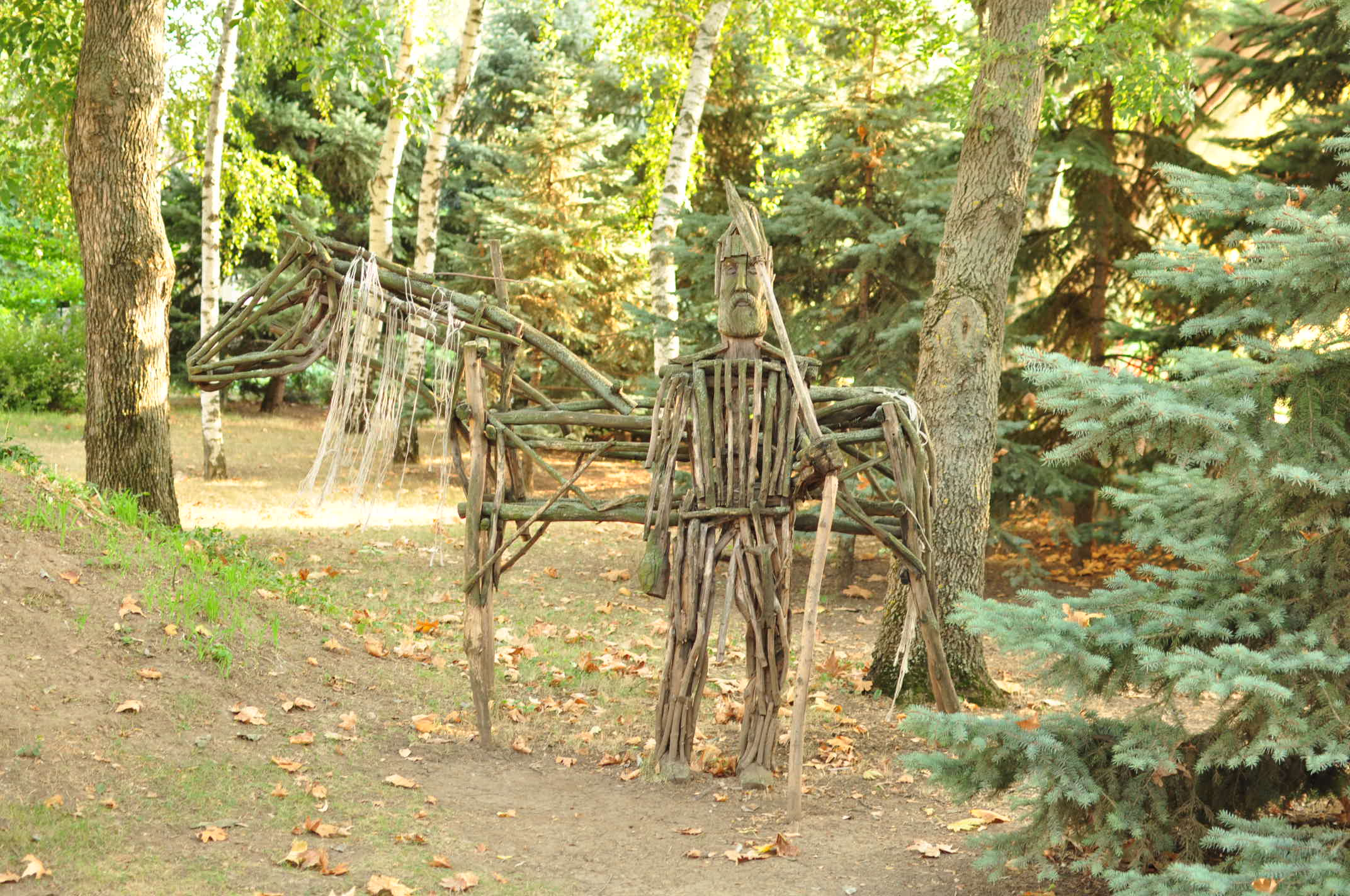 Николаевский зоопарк летом