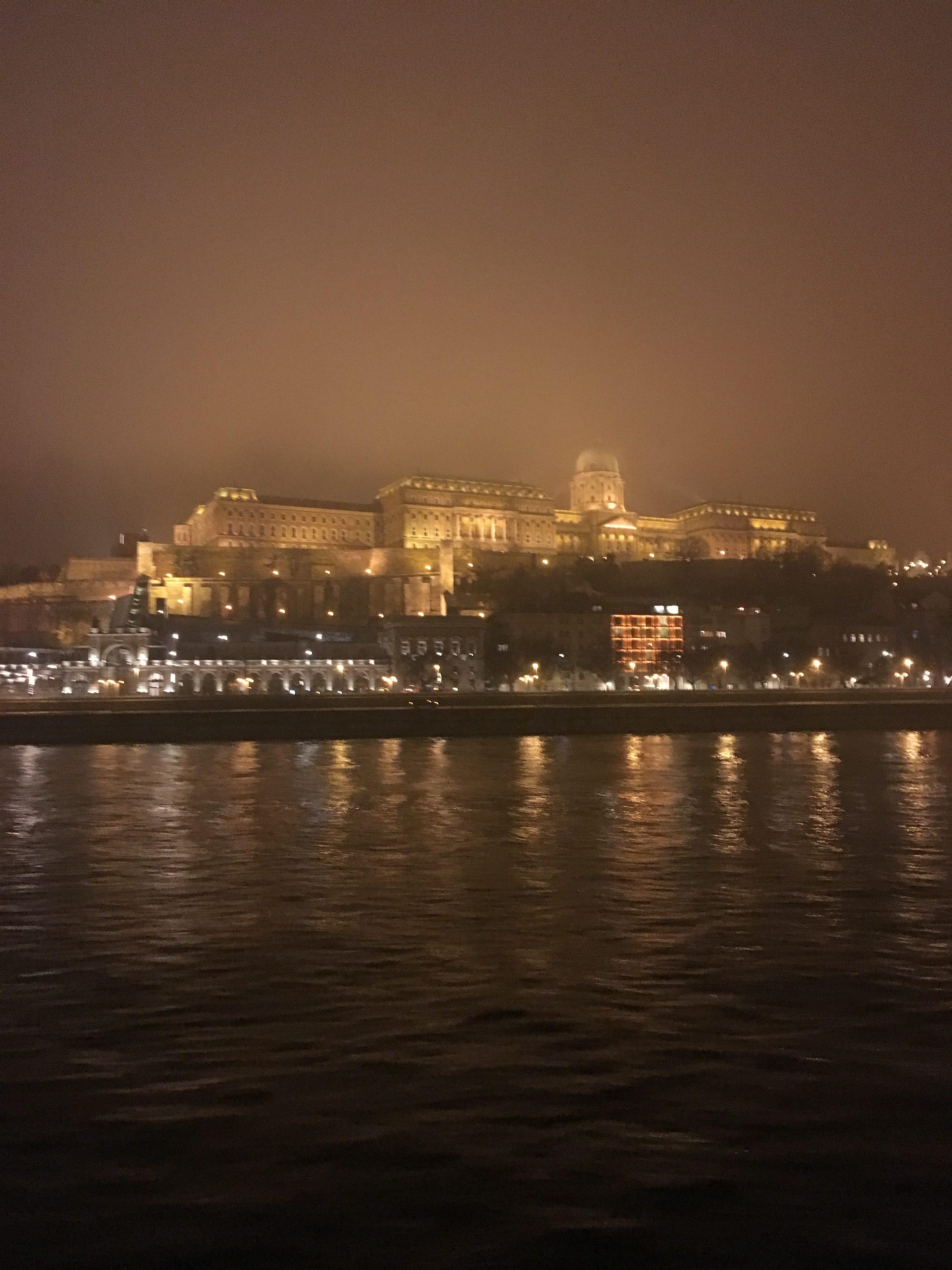 Будапешт в ілюмінації