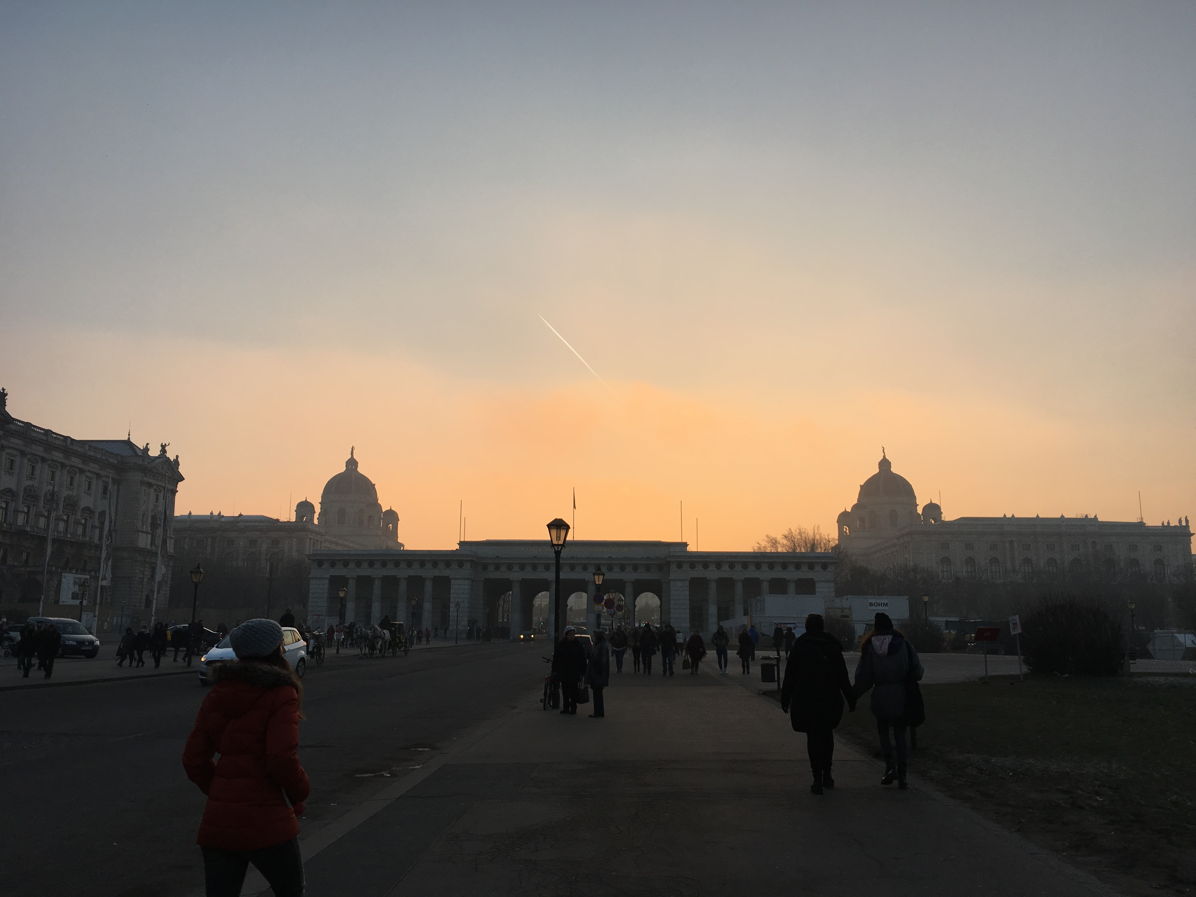 Площадь Мария-Терезиен Плац