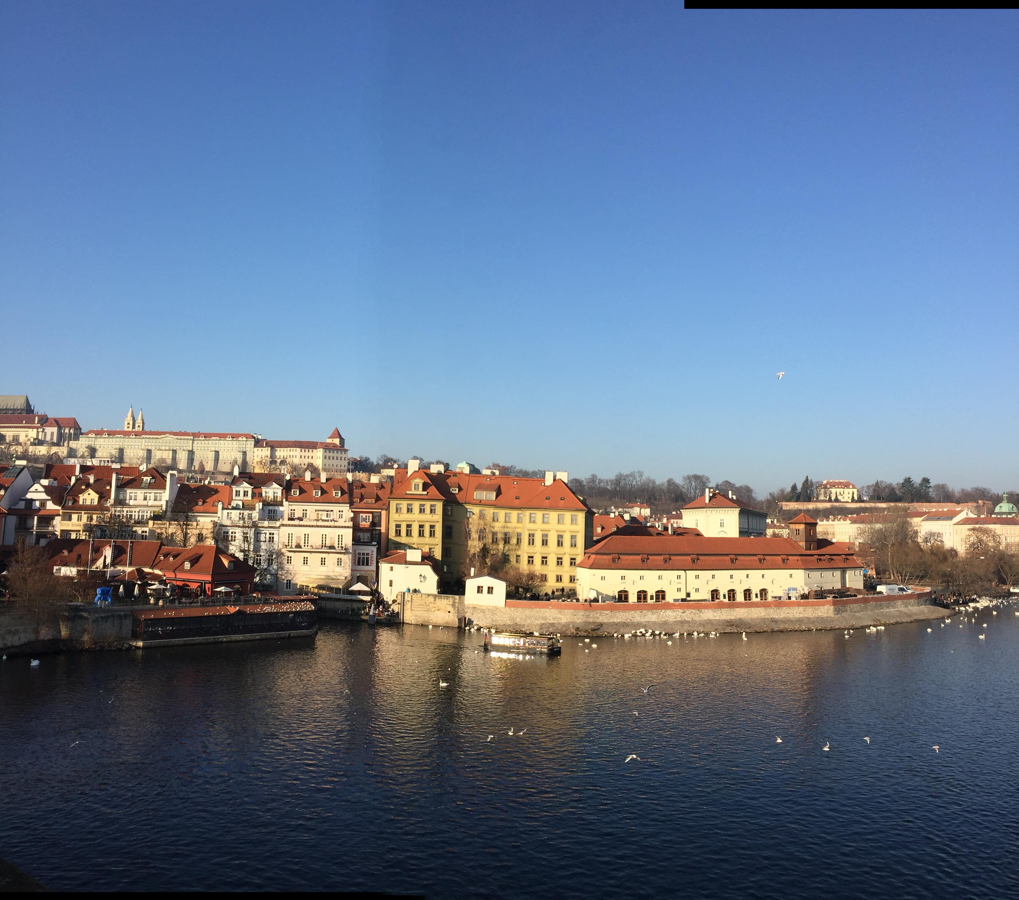 Прага, Новый год, слезы и трдло