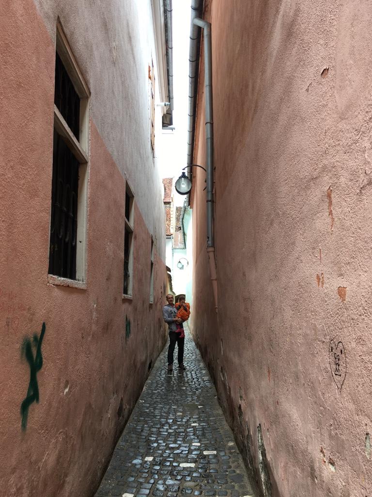 улица Страда Сфорий или Веревочная улица