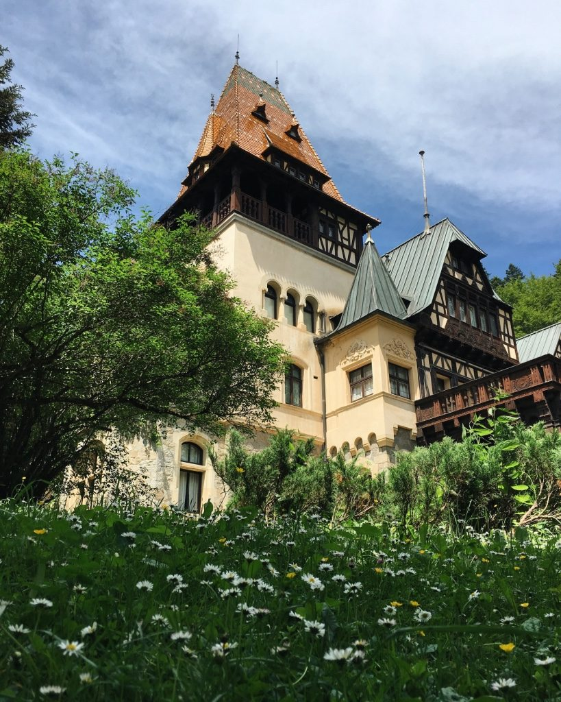 замок Пелишор Румыния