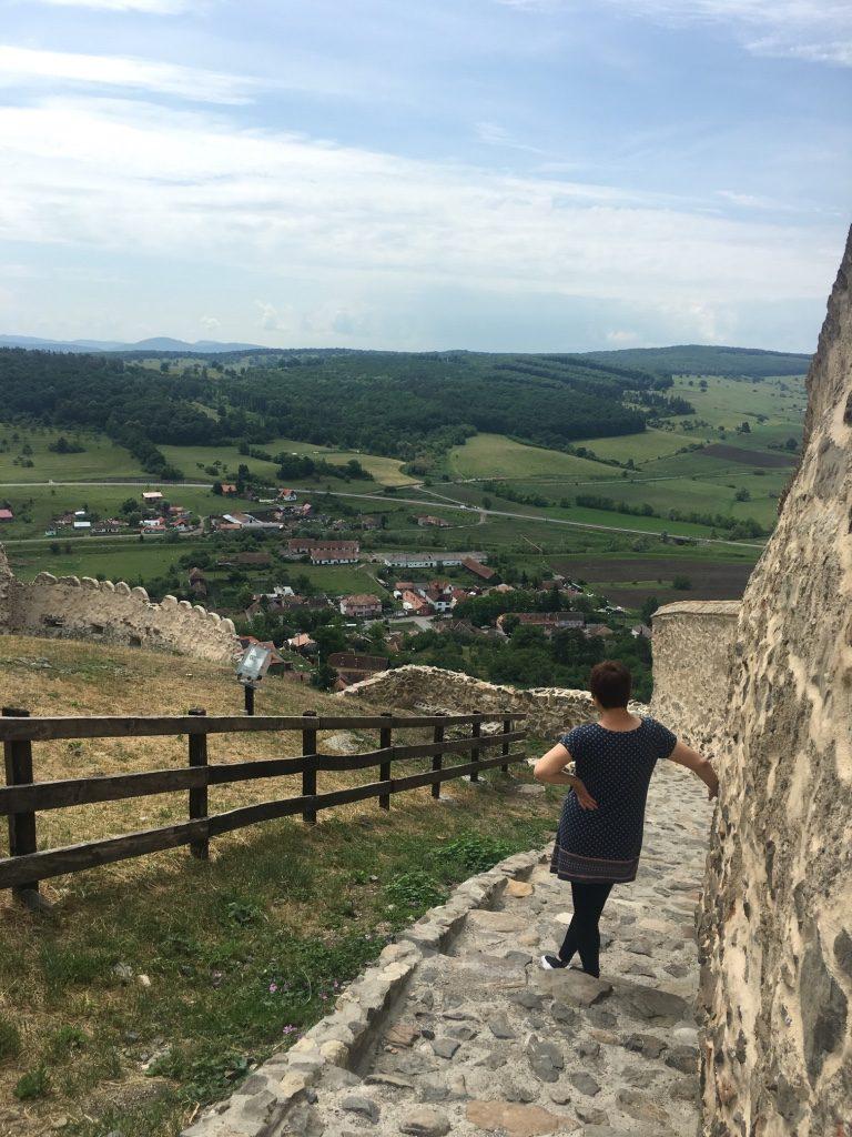 Rupea крепость, Румыния