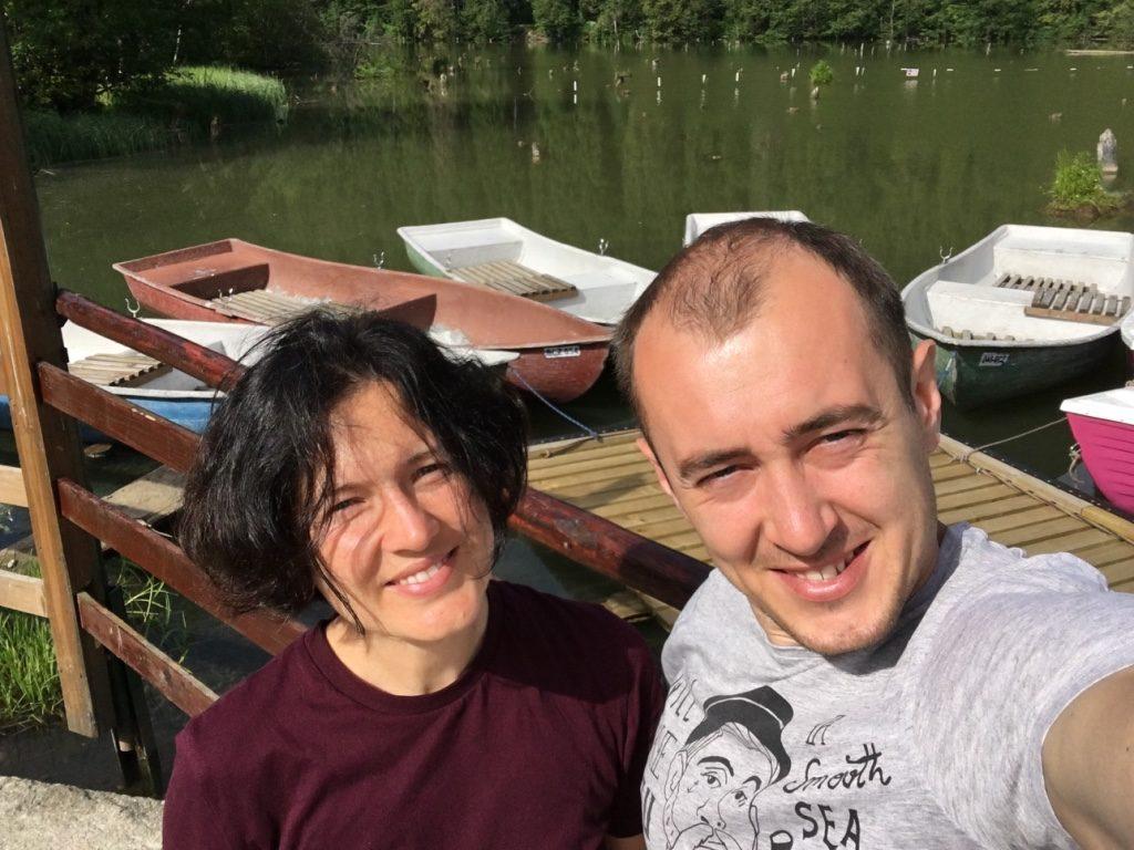 озеро лаку-Рошу