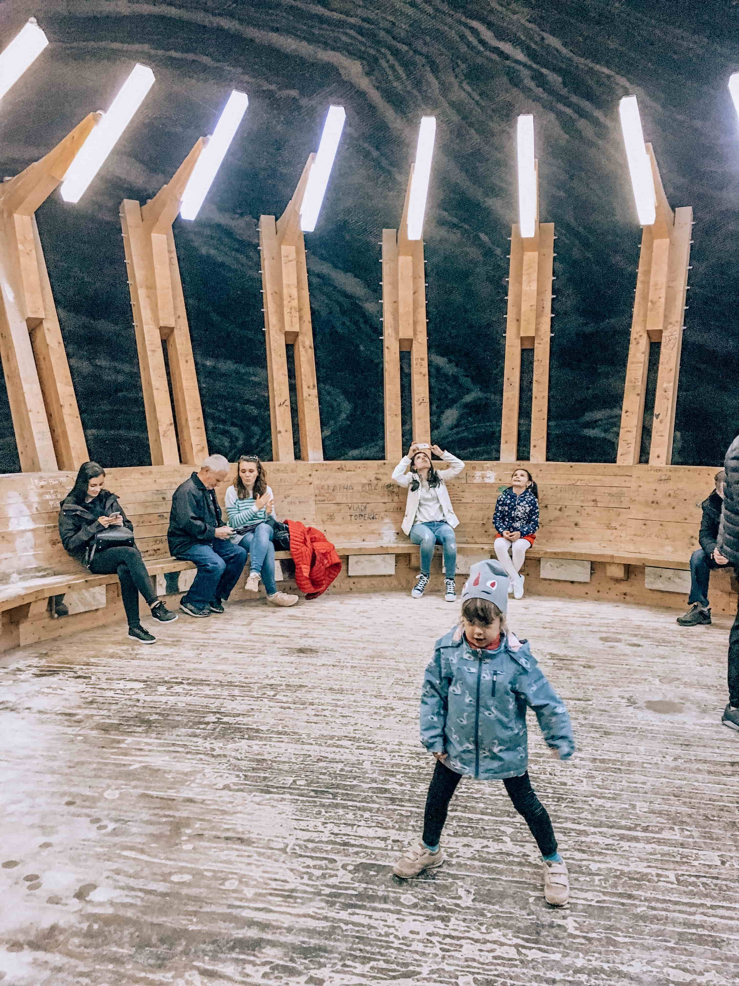 Салина Турда | Salina Turda | Соляная шахта в городе Турда