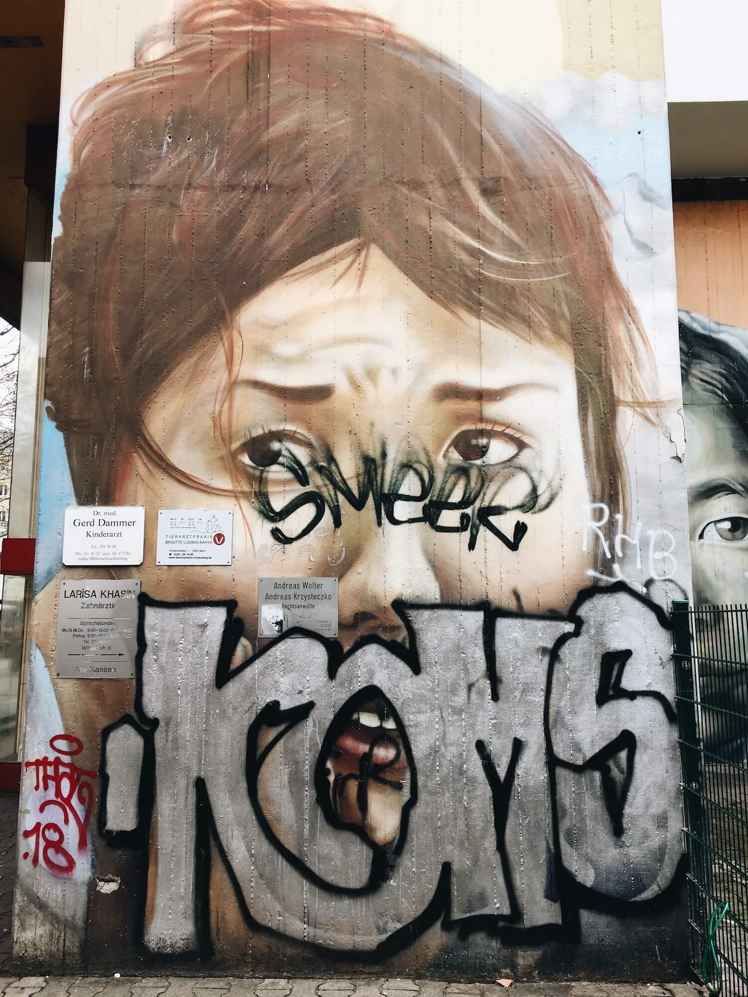 Берлин граффити
