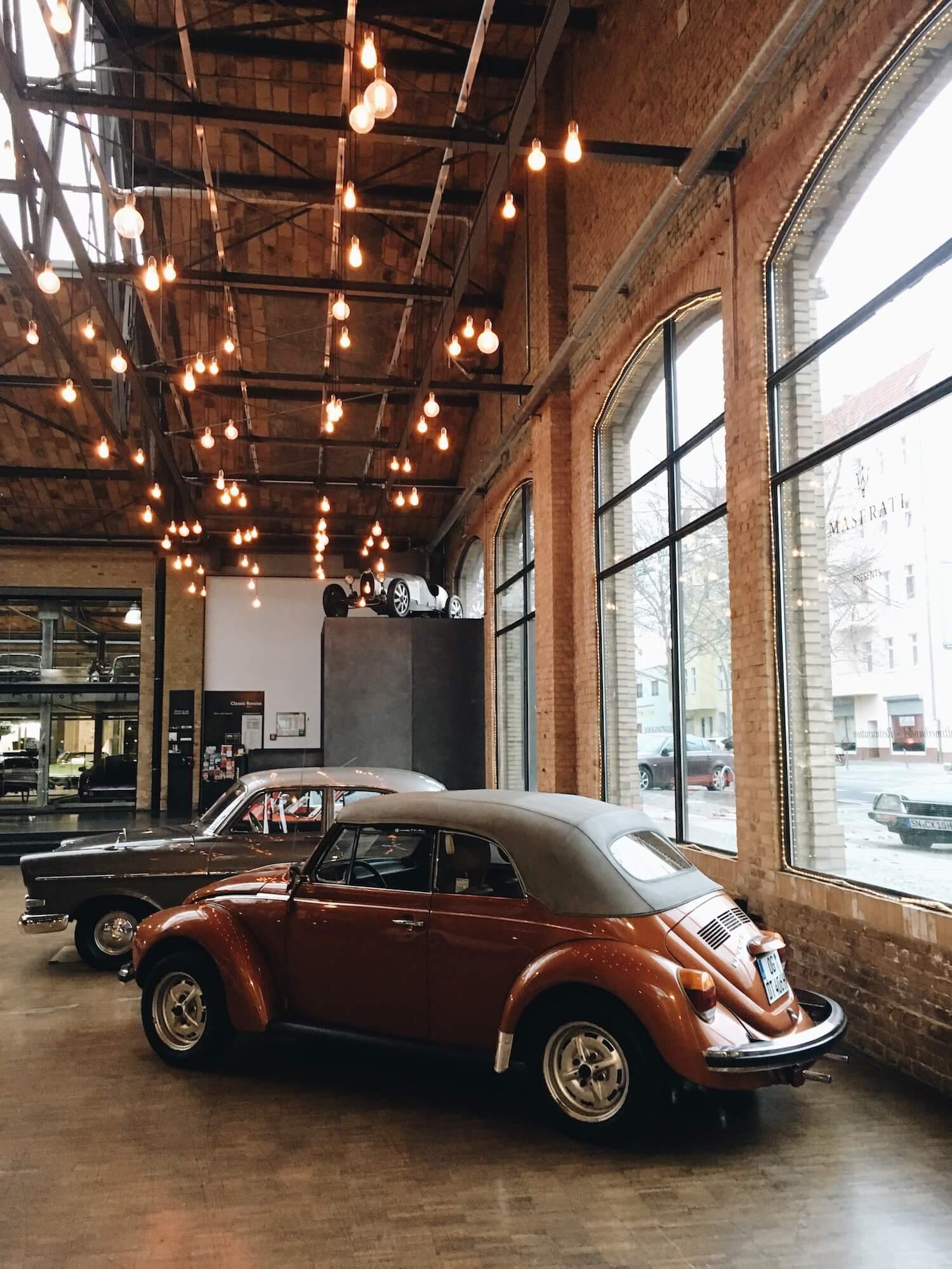 Музей ретро автомобилей в Берлине