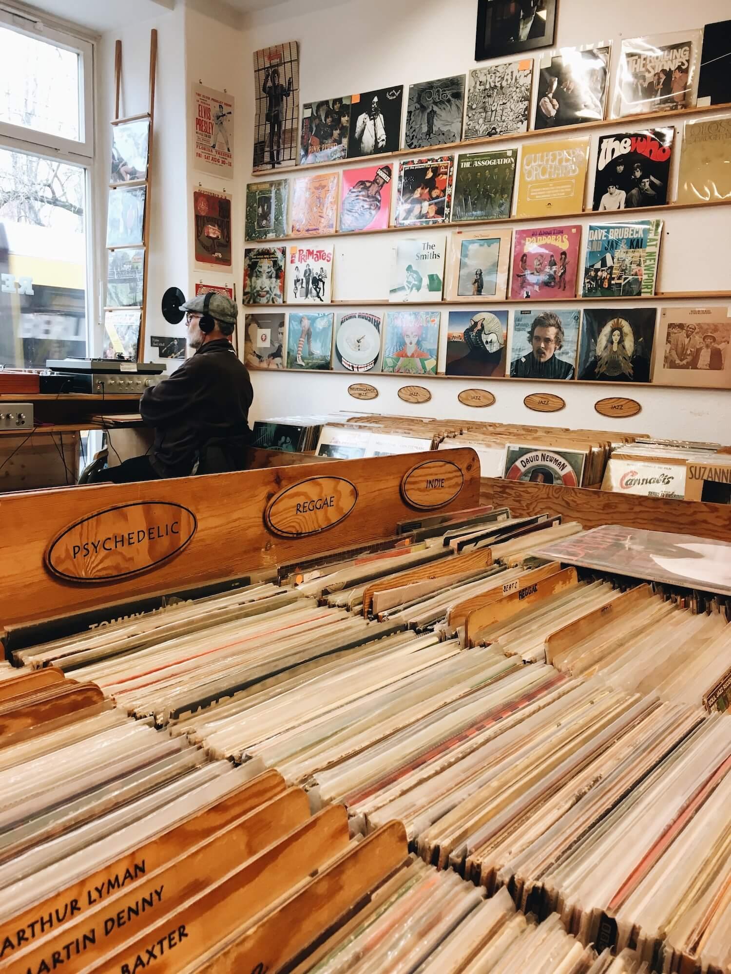 Виниловые магазины Берлина