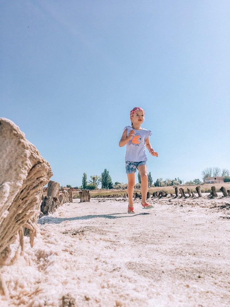 розовое озеро в украине