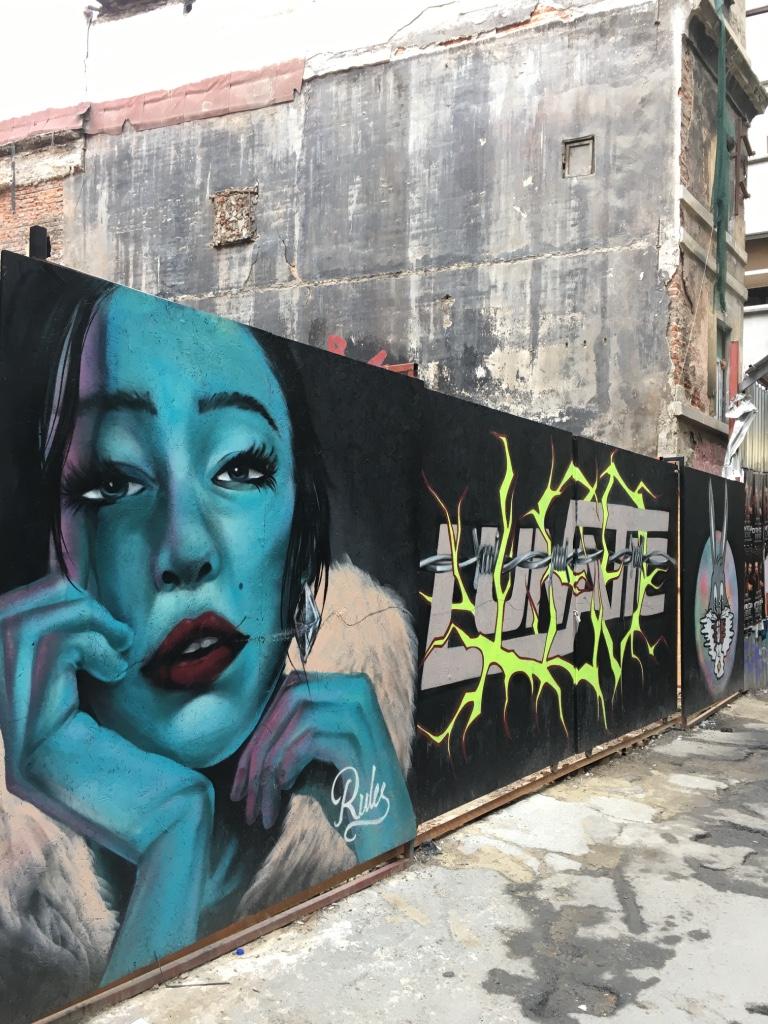 граффити Стамбула