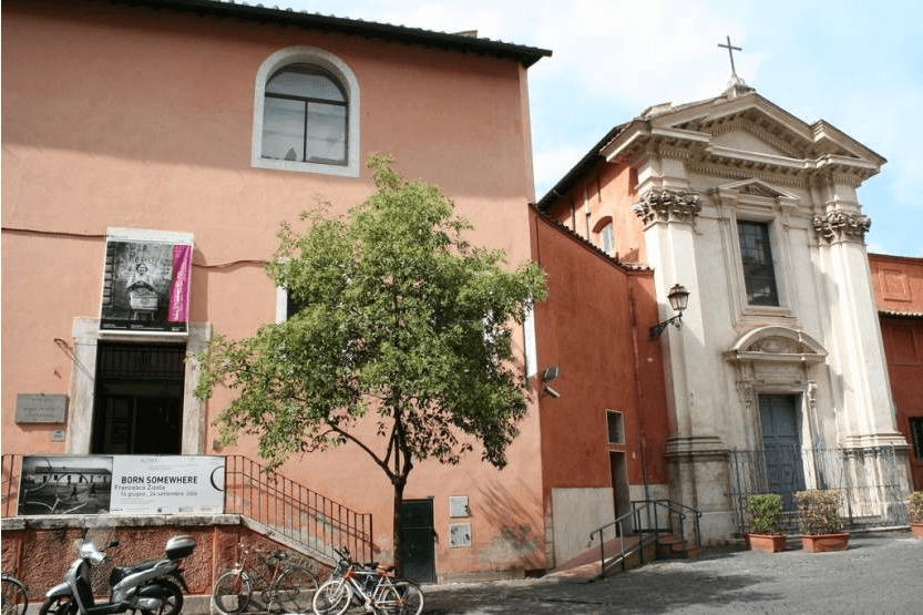 Музей Рима и церковь  Saint Egidio