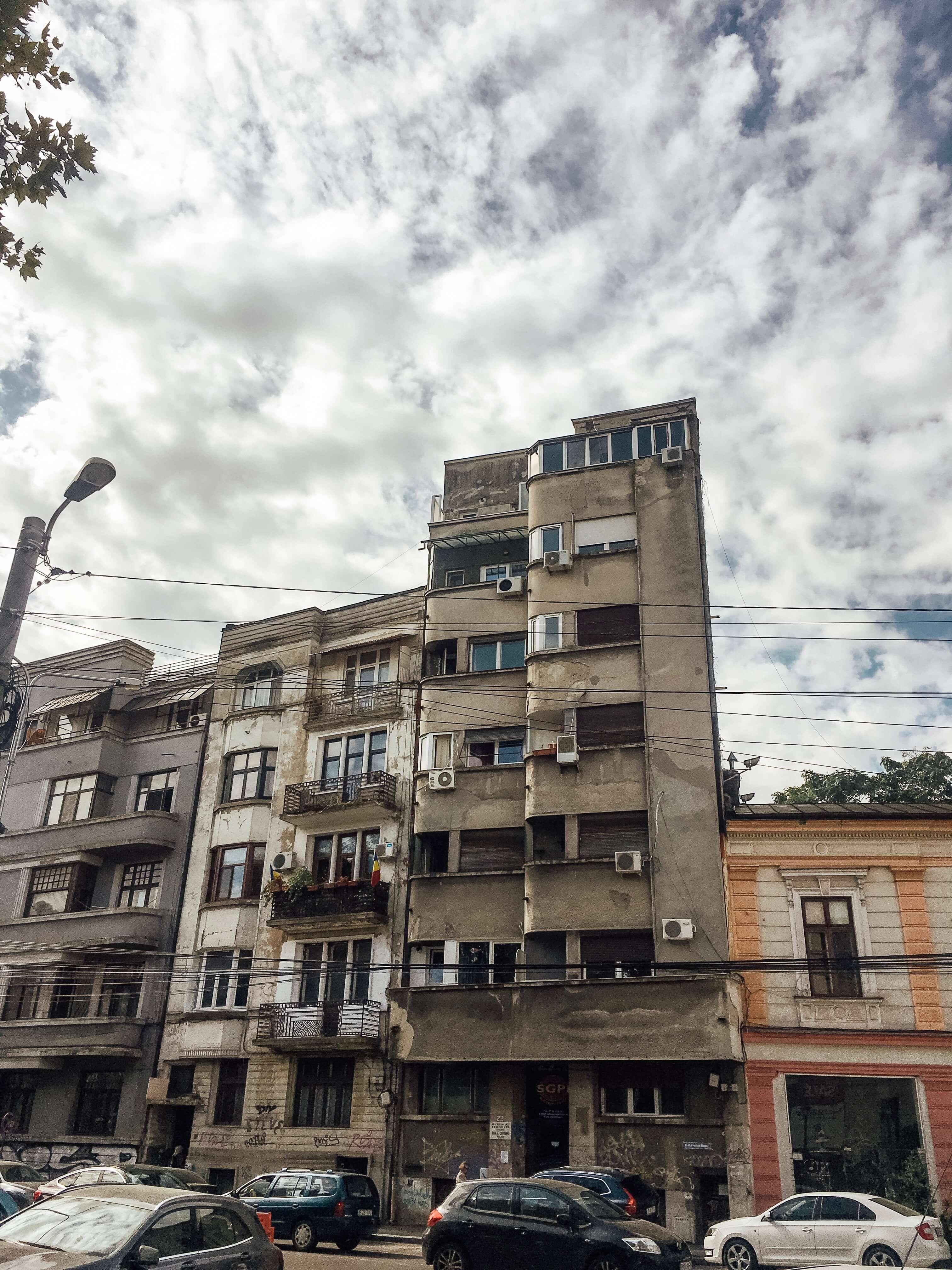 советское наследие  Бухареста