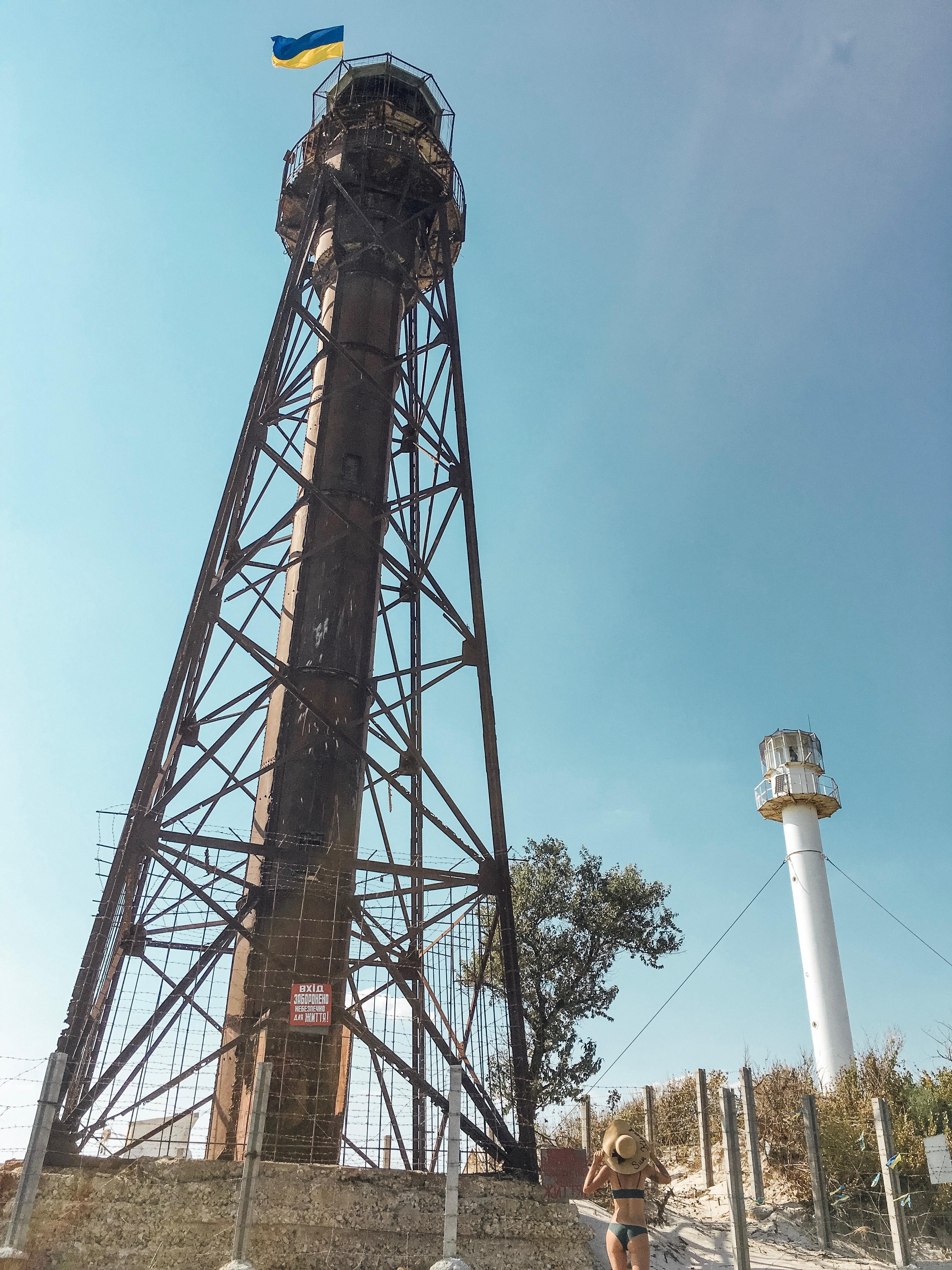 маяки на острове Джарылгач