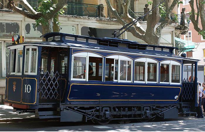 Голубой трамвай, Барселона
