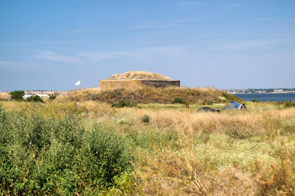 Крепость на острове Березань