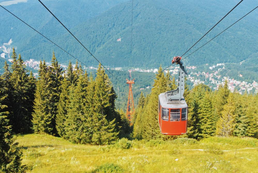Gondola Sinaia горнолыжный курорт