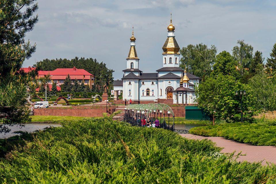 Цветочные часы в селе Ковалевка
