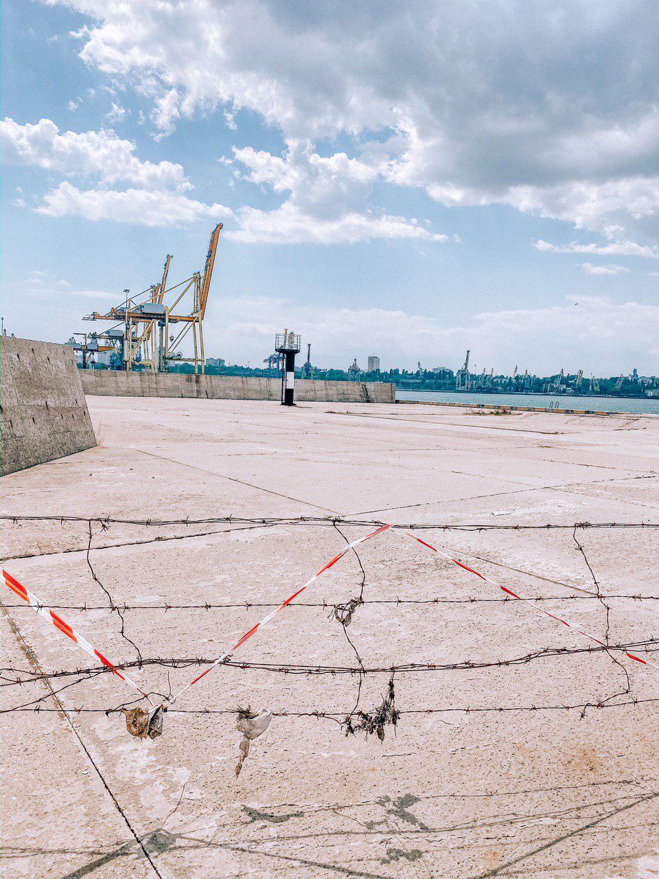 Навигационные знаки  Одесских морей