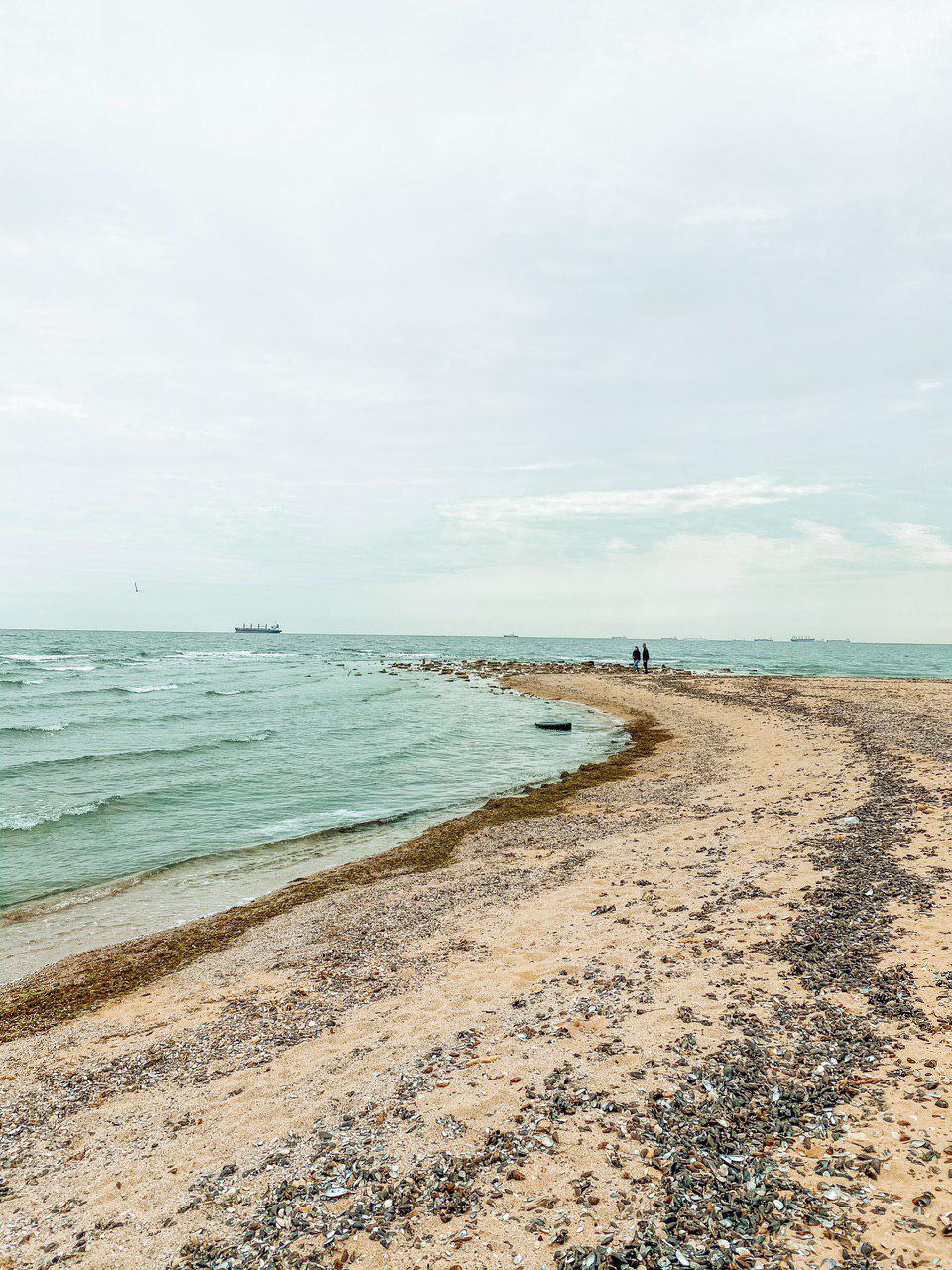 дикие пляжи Южный