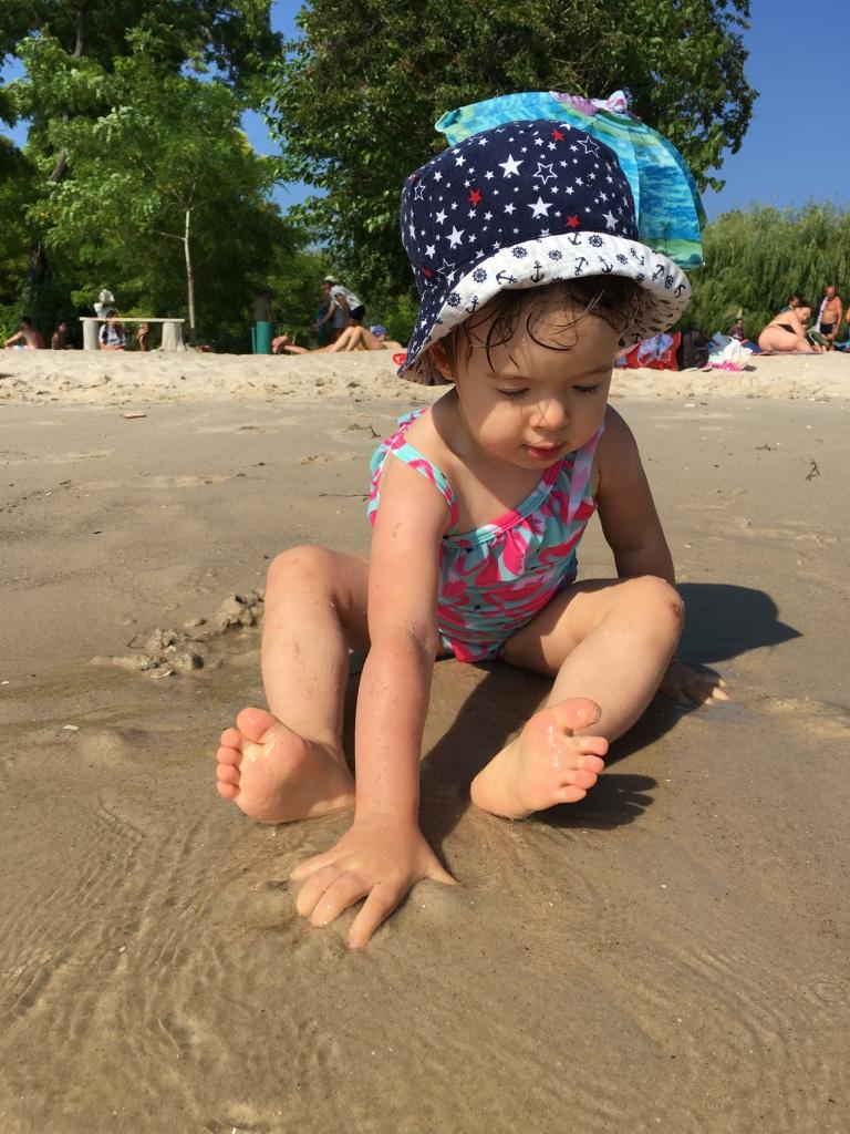 Очаков, детский пляж