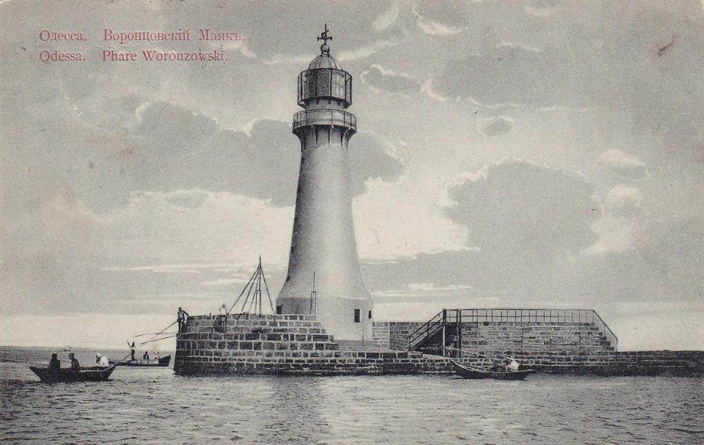 Воронцовський маяк. Початок XX століття