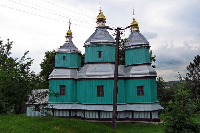 деревянная Михайловская церковь