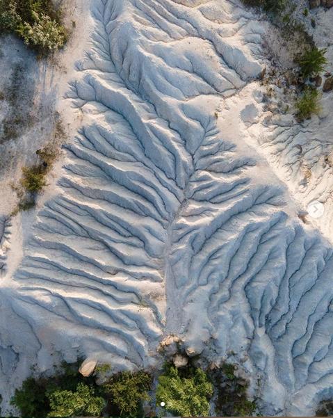 Белые скалы на Николаевщине