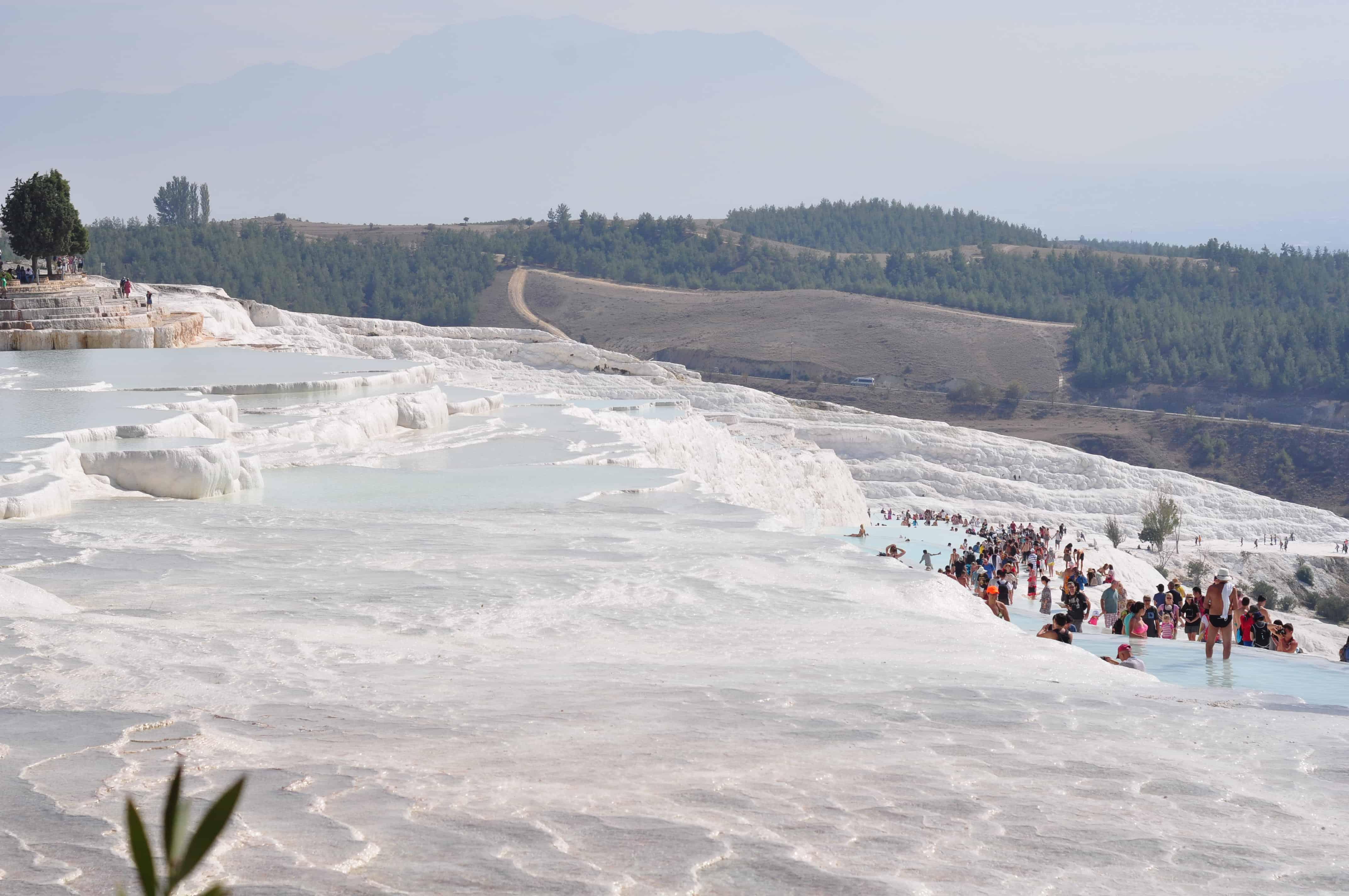 Памуккале: как доехать самостоятельно к геотермальным источникам?