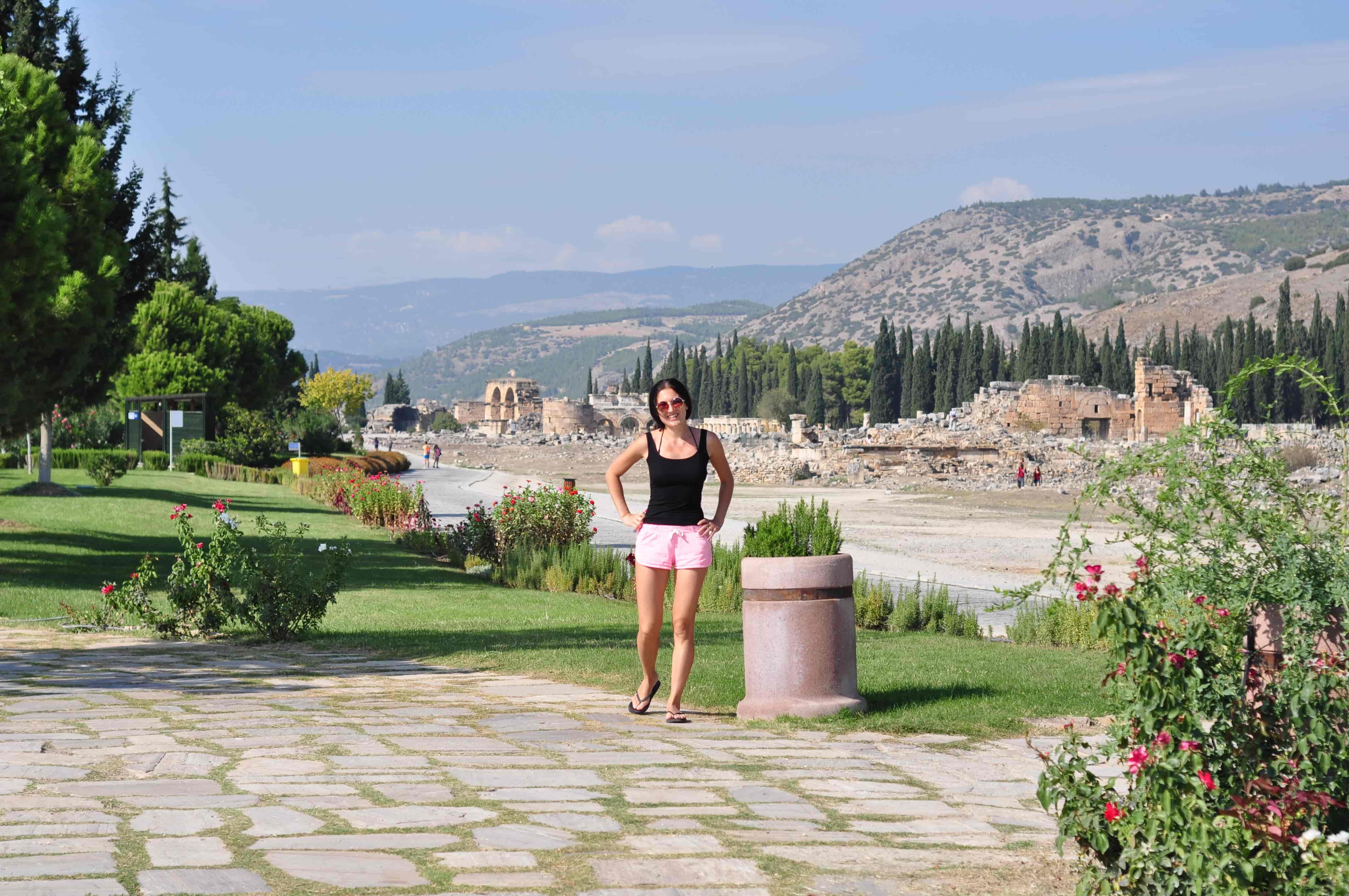 Развалины античного города Иераполис