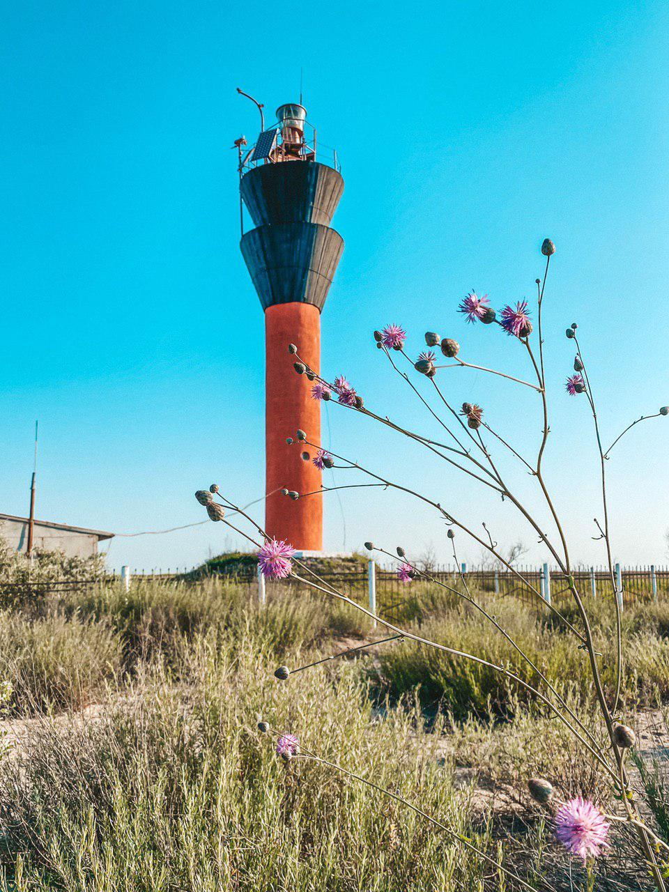 шаганский маяк
