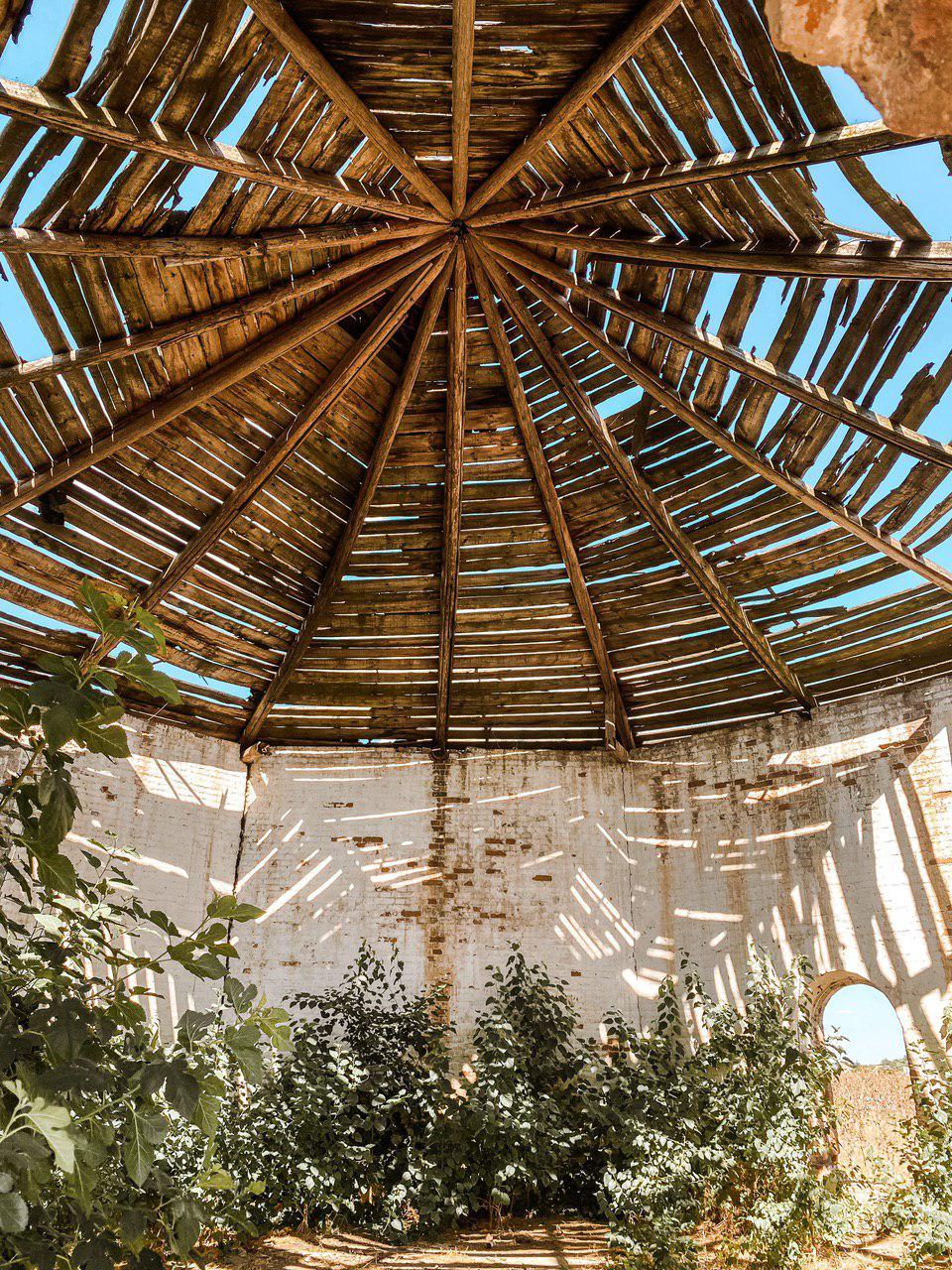 Масонський храм в Круглоозерці. Пам'ятки Херсонщини