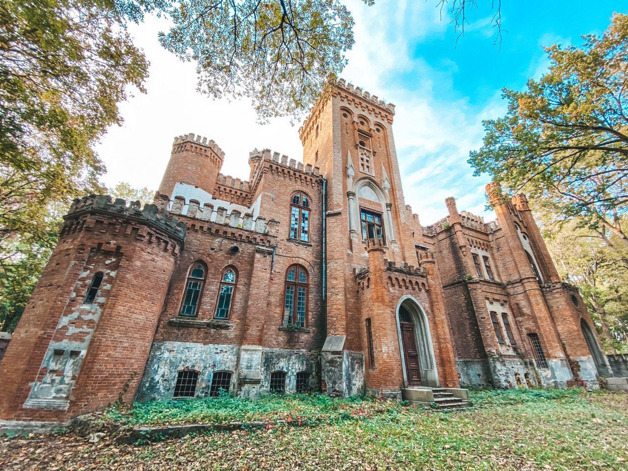 Садиба Даховських або Леськівський палац