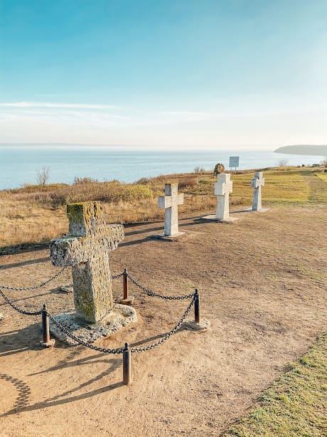 поховання на території кам'янської січі.