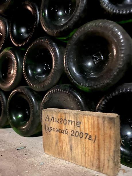 Погріб та вино в шато Трубецького на Херсонщині.
